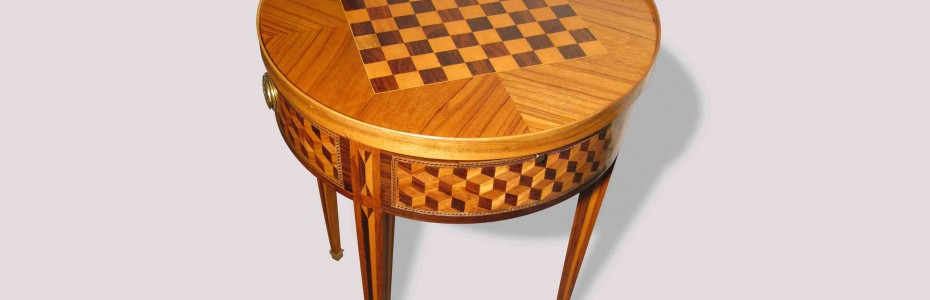 table à jeux - damier