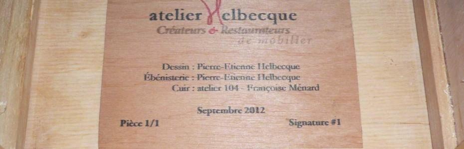 Bureau Sacoche - signature