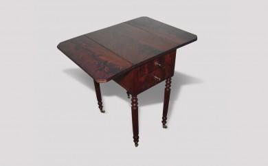 Table à volets Louis Philippe - après restauration