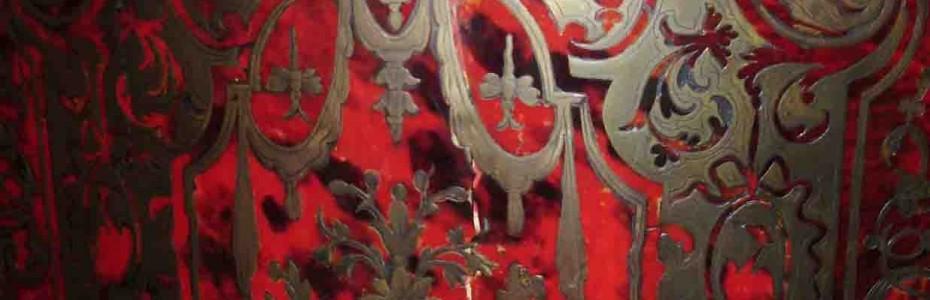 meuble d'appui Napoléons III - abattant fendu