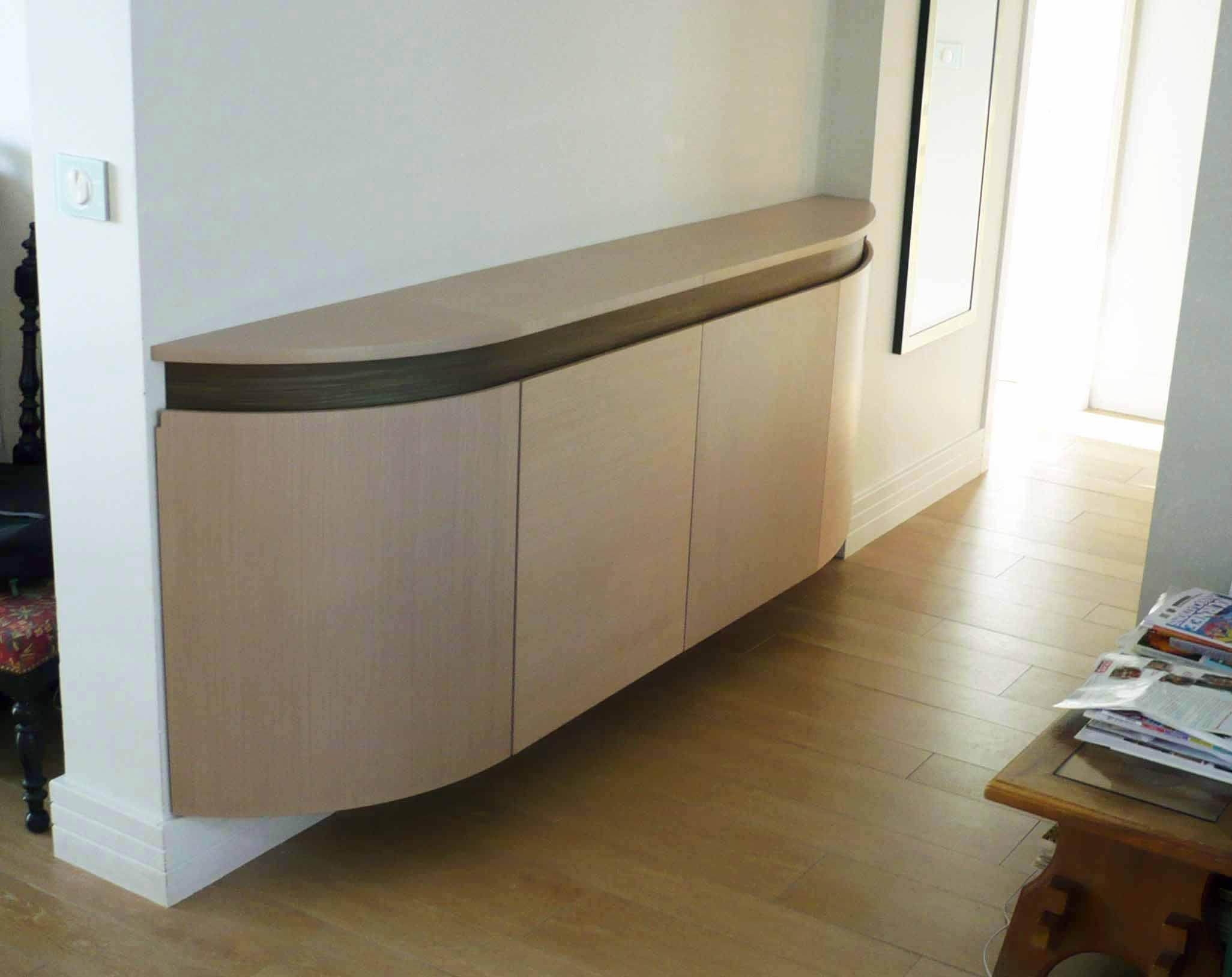 B niste cr ateur fabricant de mobilier contemporain sur mesure atelier helbe - Bahut suspendu design ...