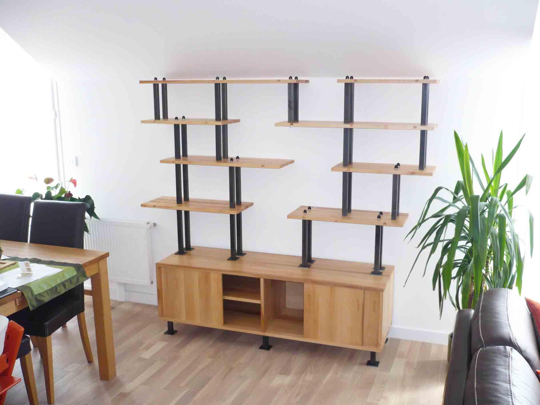 Sur Mesure Atelier Helbecque 94 Ile De France Paris # Fabriquer Bibliotheque Meuble Tv Rangement Ferme Sur Mesure