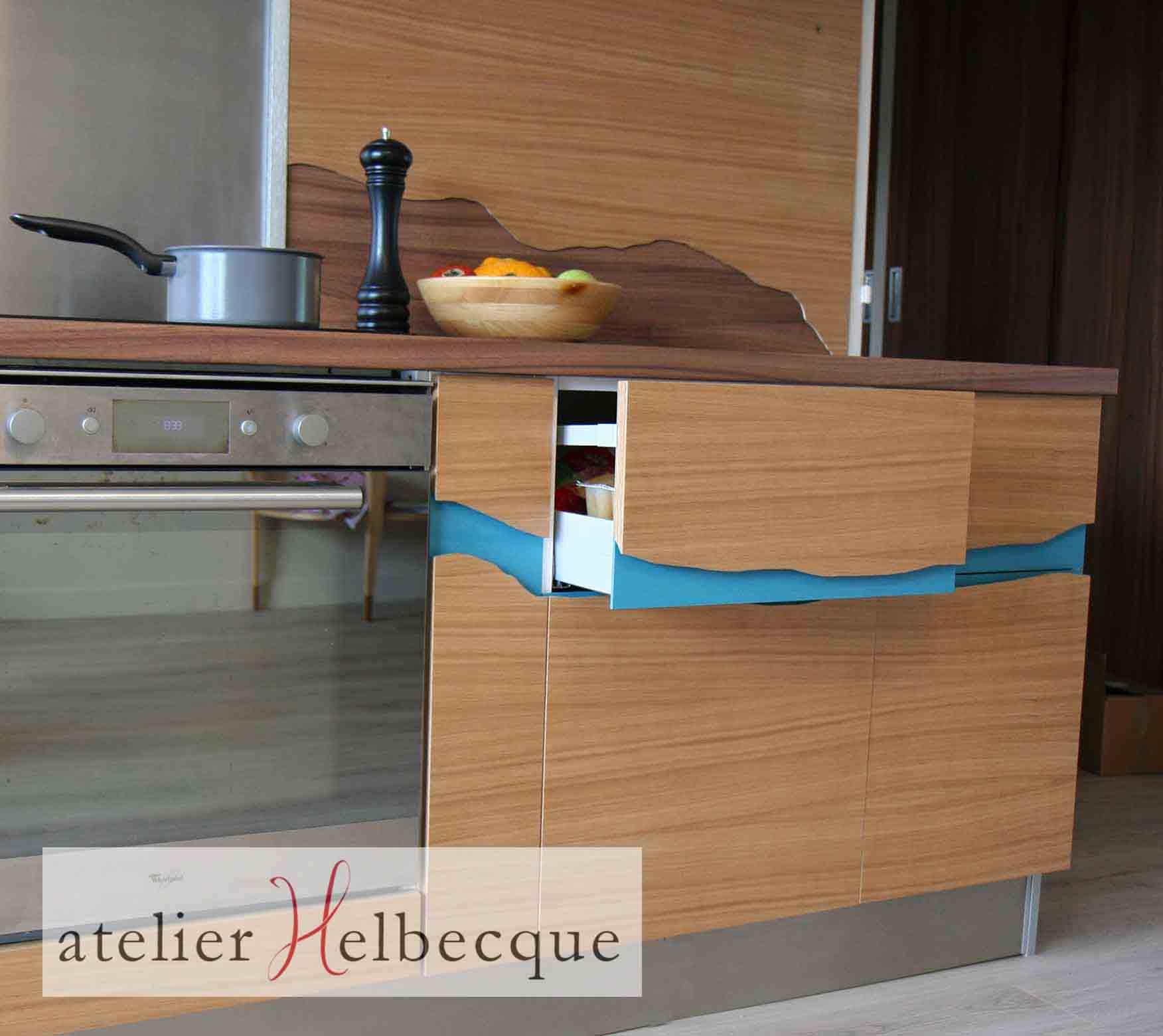 Val de marne portfolio tag atelier helbecque 94 ile - Habillage cuisine ...
