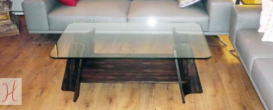 Table basse Aux 4 coins
