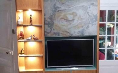 Meuble télé et bibliothèque