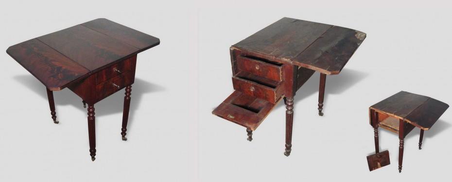 Table à volets Louis Philippe