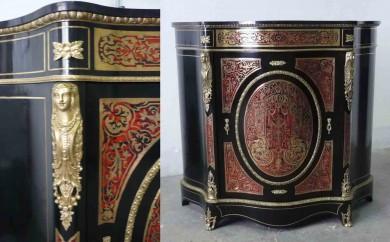 meuble d'appui Napoléons III - après restauration
