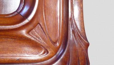 Médailler Art Nouveau de la Monnaie de Paris - après restauration - détails sculptures
