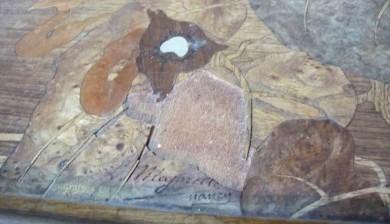Table marquetée Majorelle