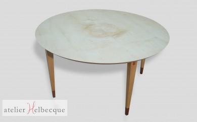 Table basse ronde Académie