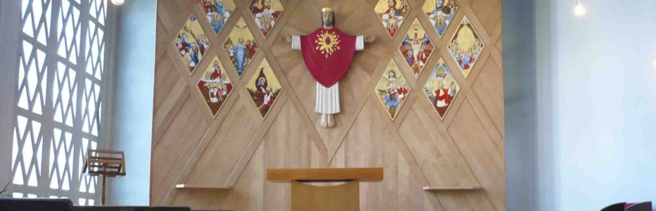 Retable d'une église