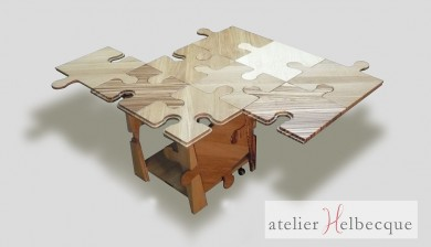 Table basse modulable Puzzle