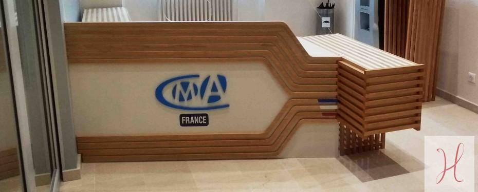 hall d'accueil CMA France